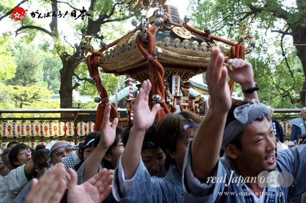 〈王子神社例大祭〉王子四丁目町会 @2012.08.05