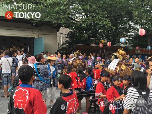東大島神社御祭礼 2017年8月6日 hojm17_002