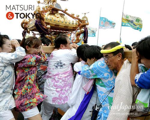 平成29年度「羽田まつり」上東 町会 2017年7月30日 HND17_021