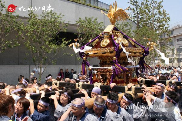 〈すみだ区民祝賀パレード〉七番. 小梅一丁目町会