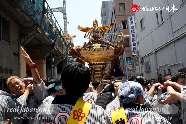 湯島天満宮例大祭〈三組弥生会〉@2012.05.27