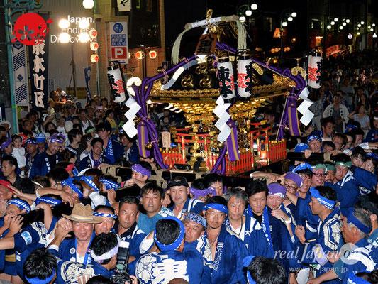 〈八重垣神社祇園祭〉神社神輿還御:東本町区 @2018.08.05 YEGK18_042