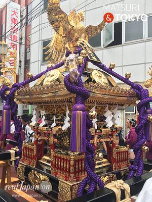 旗岡八幡神社 宮神輿完成披露渡御 2017年7月16日 HHJMM_006
