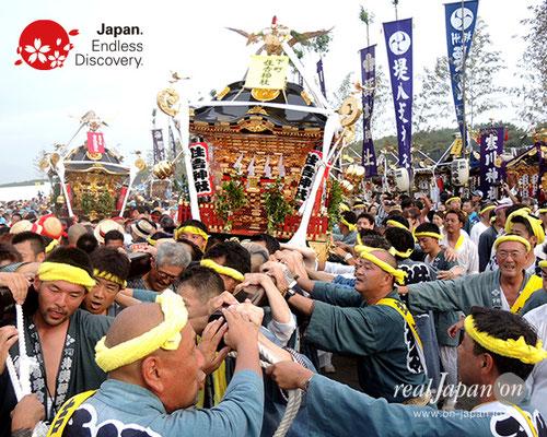 2017年度「浜降祭」南湖下町 住吉神社/南湖上町 金刀比羅神社 2017年7月17日 HMO17_038