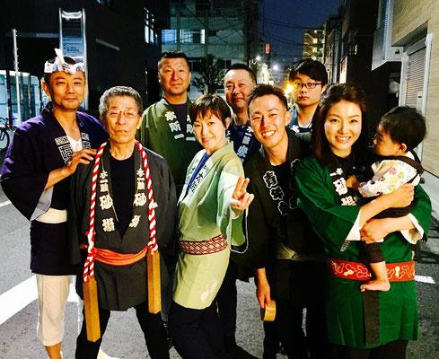 〈GP-17009〉 安川いつ子さん:牛嶋神社大祭・2017年9月16日