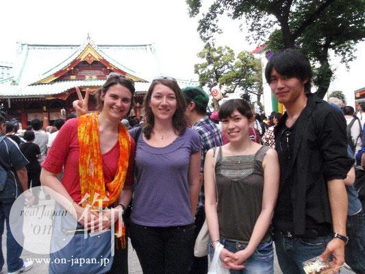 TN大学のみなさま:フランスボルドー、シャンパーニュ、ノルマンディー(留学生)& 日本男児。