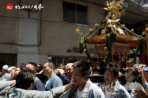 湯島天満宮例大祭〈天一町会〉@2012.05.27