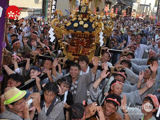 〈八重垣神社祇園祭〉神輿連合渡御:砂原区 @2018.08.05 YEGK18_040