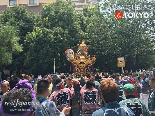 東大島神社御祭礼 2017年8月6日 hojm17_020