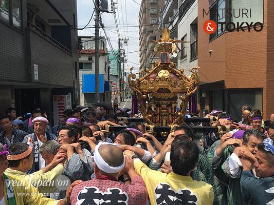 東大島神社御祭礼 2017年8月6日 hojm17_014