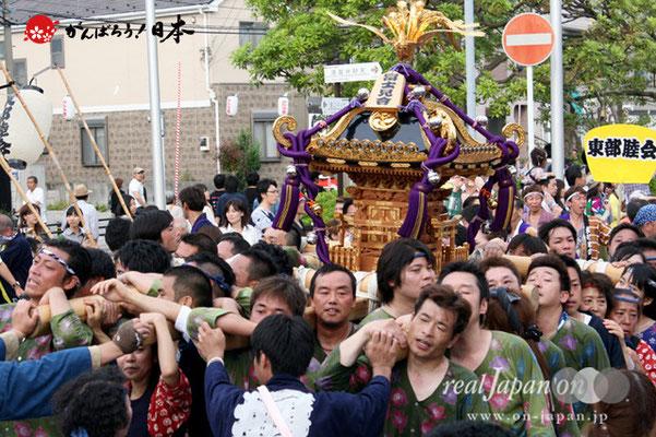浦安三社祭〈富士見會〉@2012.06.17