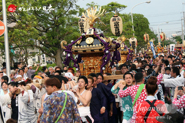 浦安三社祭〈弁天通り組〉@2012.06.17