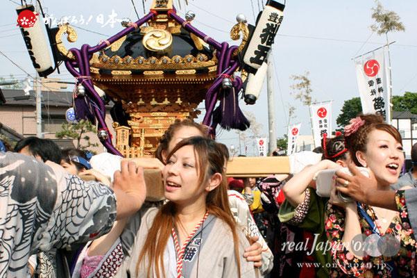 浦安三社祭〈猫実五丁目〉@2012.06.17