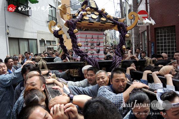 二之宮・本社神輿渡御〈馬二〉@2013.05.19