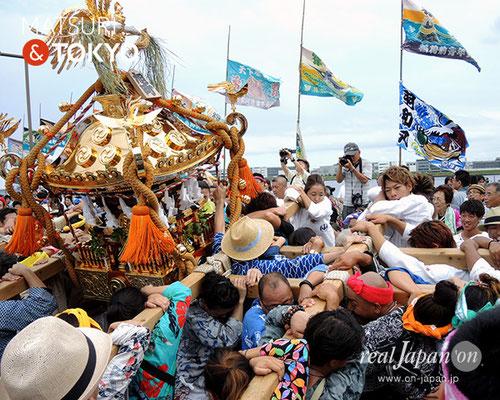 平成29年度「羽田まつり」旭町 町会 2017年7月30日 HND17_003