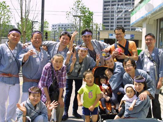 松井會さん。祭の魅力は、人が集まり楽しめる事かな。地元、深川神明宮は今年は大祭!