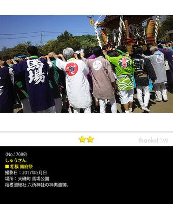 しゅうさん:相模 国府祭, 2017年5月5日