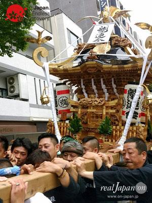 2017年 横浜開港祭 みこしコラボレーション「龍連合」YH17_017