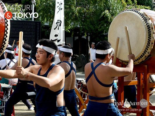 牛嶋神社大祭, 神幸祭, 2017年9月15日・16日〈向島游神太鼓〉