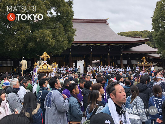 〈建国祭 2019.2.11〉明治神宮大前 ©real Japan'on : kks19-035