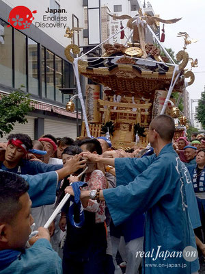 2017年 横浜開港祭 みこしコラボレーション「今泉神輿保存会」YH17_019
