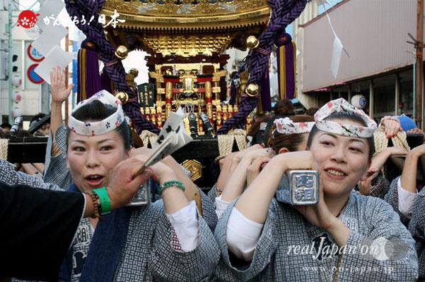 〈八重垣神社祇園祭〉上出羽区 @2012.08.04