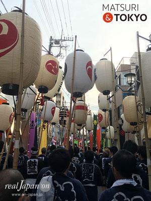 旗岡八幡神社 宮神輿完成披露渡御 2017年7月16日 HHJMM_016