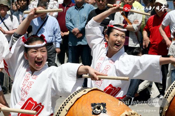〈烏森神社例大祭〉白梅太鼓奉奏 @2012.05.05