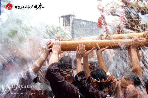 〈富岡八幡宮例大祭〉神輿連合渡御 十二番: 新川一南 @2014.08.17