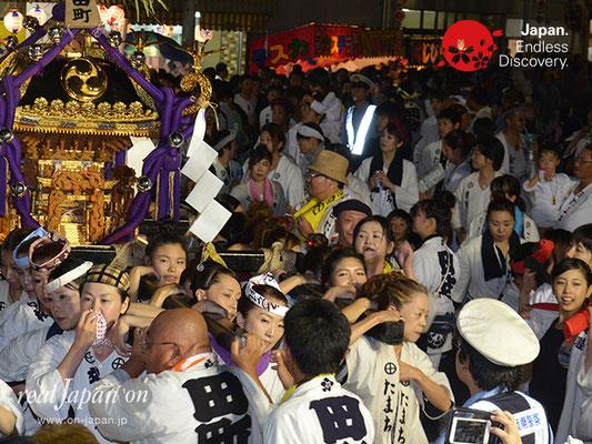 〈八重垣神社祇園祭〉女神輿連合渡御:田町区 @2017.08.04 YEGK17_014