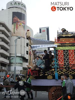 〈建国祭 2019.2.11〉元禄弥山車 ©real Japan'on : kks19-028