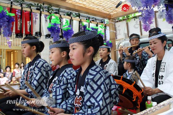 湯島天満宮例大祭〈湯島はやし連〉@2012.05.27