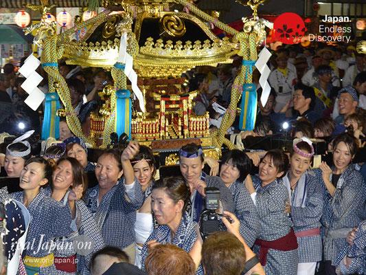 〈八重垣神社祇園祭〉女神輿連合渡御:上出羽町区 @2017.08.04 YEGK17_013