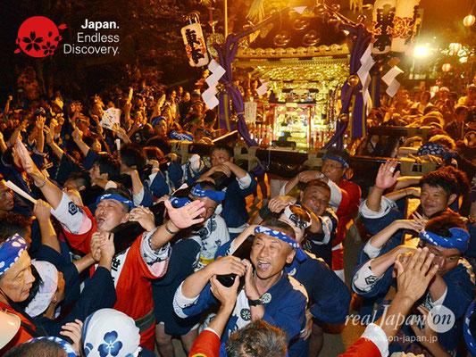 〈八重垣神社祇園祭〉神社神輿還御:東本町区 @2018.08.05 YEGK18_044