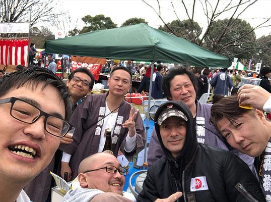 〈GP-19001〉 てっぽうさん:第9回 東日本大震災復興祭,舎人公園・2019年3月17日