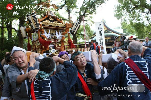 〈王子神社例大祭〉王子一丁目町会 @2012.08.05