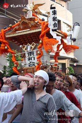 浦安三社祭〈東和会〉@2012.06.17