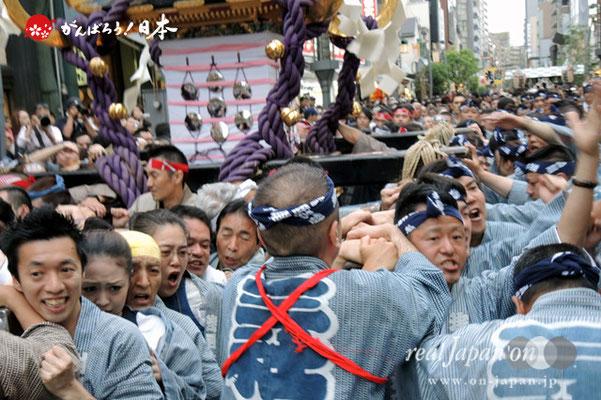 一之宮・本社神輿渡御〈浅草西〉@2013.05.19