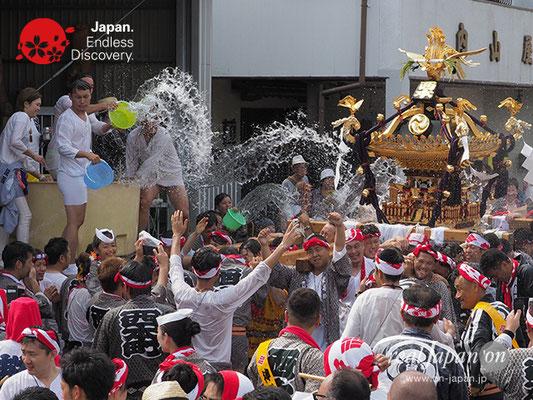 〈八重垣神社祇園祭〉西本町区 @2017.08.05 YEGK17_033