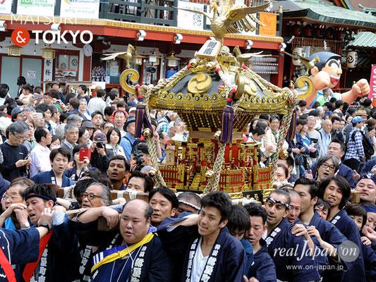 〈神田祭 2017.5.14〉紺屋町南町会 ©real Japan'on -knd17-032