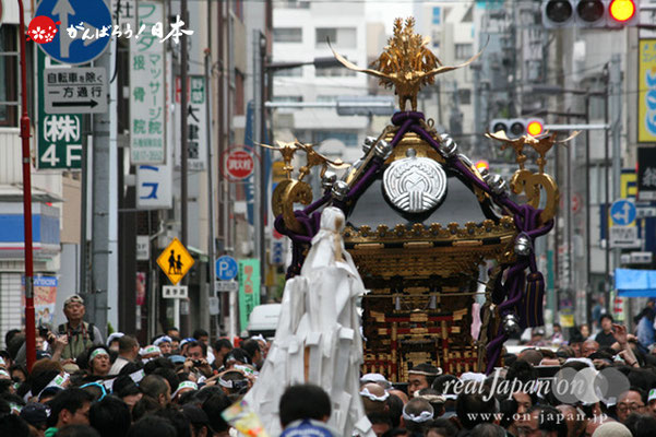 〈下谷祭〉本社神輿渡御 @2012.05.13