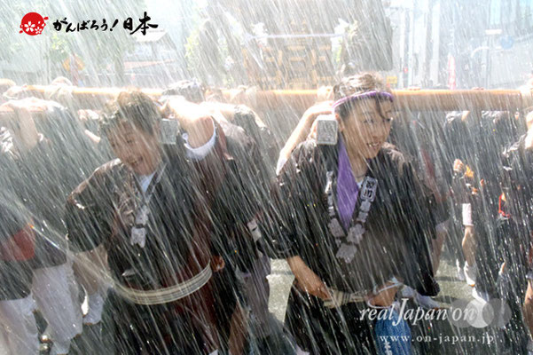 〈深川神明宮例大祭〉神輿連合渡御 三番: 森下五丁目 @2012.08.19