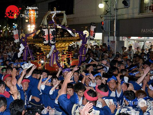 〈八重垣神社祇園祭〉神社神輿還御:東本町区 @2018.08.05 YEGK18_043
