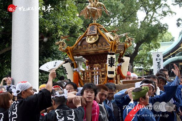 〈王子神社例大祭〉東十条一丁目町会 @2012.08.05