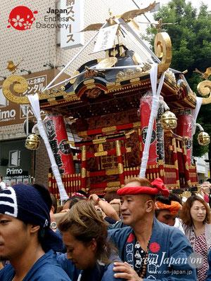 2017年 横浜開港祭 みこしコラボレーション「彫勇連合」YH17_018