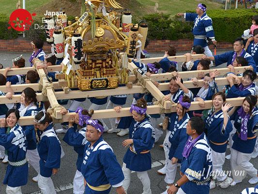 〈八重垣神社祇園祭〉女神輿連合渡御:東本町区 @2017.08.04 YEGK17_007