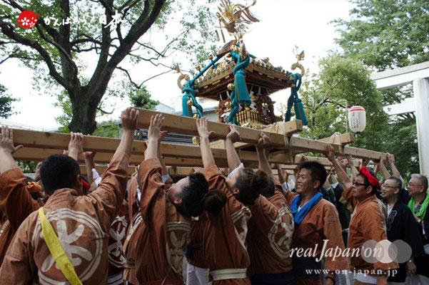 〈王子神社例大祭〉王子本町二丁目町会 @2012.08.05