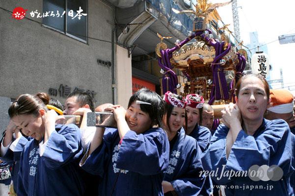 湯島天満宮例大祭〈本三南部会〉@2012.05.27