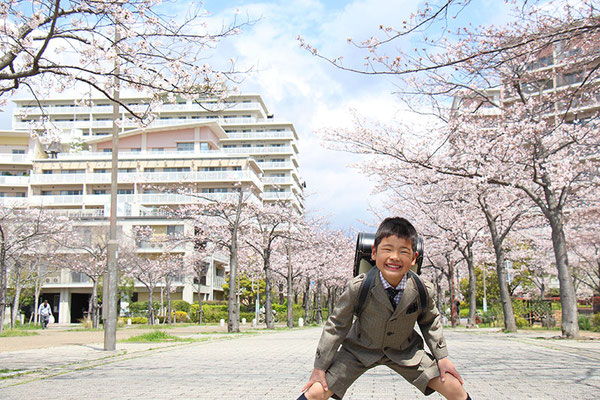 〈s20-150〉ふうさん:桜も笑顔も満開??/4月2日(木)/西宮マリーナシティ