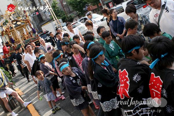 素盞雄神社・天王祭〈本社大神輿巡行〉 @2012.06.03